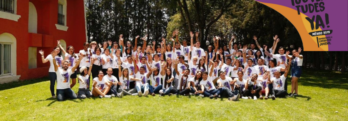Jóvenes voluntarios de Chile