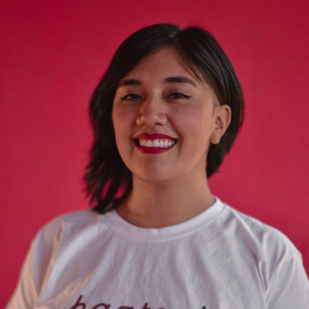 Naomi Elgueta Panire, Psicóloga Voluntaria y Coordinadora de Programas de FChPositivo Antofagasta, forma parte del equipo ganador Red Light, en el Pilar en 3 de AHEAD Hackathon 2020